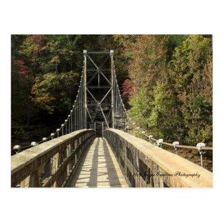 Appalachia Powerhouse Bridge in Reliance,Tennessee Postcard
