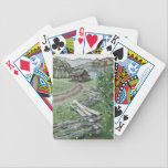 "Appalachian Cabin Playing Cards (Premium Poker)<br><div class=""desc"">These cards feature artwork by Amie Whitlock.</div>"