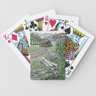 Appalachian Cabin Playing Cards (Premium Poker)