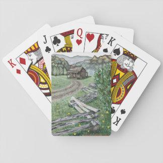 Appalachian Cabin Playing Cards (Standard)