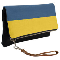Appalachian Gold and Blue Clutch