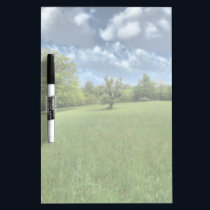 Appalachian Green Dry Erase Board