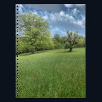 Appalachian Green Notebook