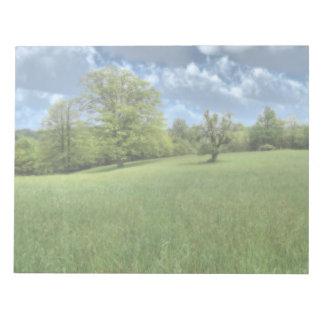Appalachian Green Notepad