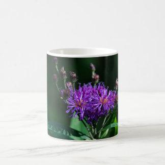 Appalachian Ironweed Purple Wildflower Mug Cup