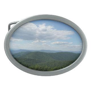 Appalachian Mountains Belt Buckle