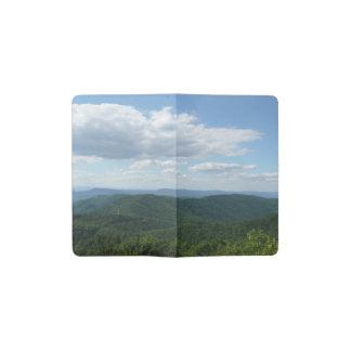 Appalachian Mountains I Shenandoah National Park Pocket Moleskine Notebook Cover With Notebook