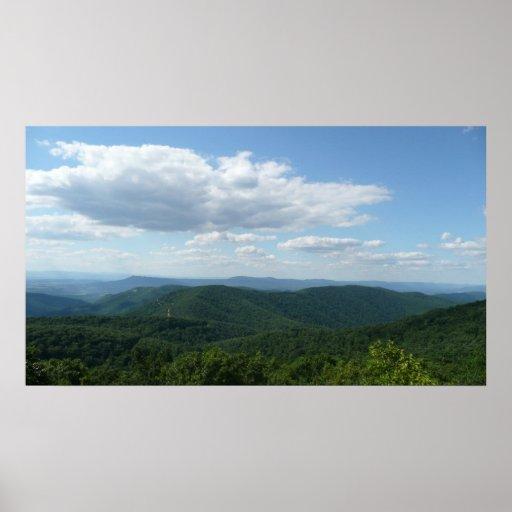 Appalachian Mountains I Shenandoah Poster