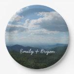Appalachian Mountains II Shenandoah Paper Plate