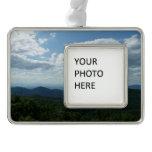 Appalachian Mountains II Shenandoah Silver Plated Framed Ornament