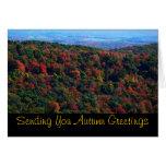 Appalachian Mountains in Fall Card