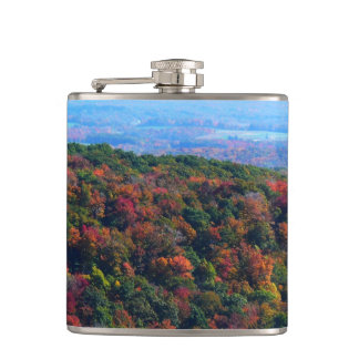 Appalachian Mountains in Fall Nature Photography Flask