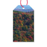 Appalachian Mountains in Fall Nature Photography Gift Tags