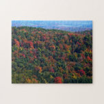 Appalachian Mountains in Fall Nature Photography Jigsaw Puzzle