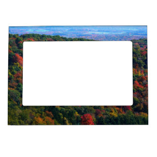 Appalachian Mountains in Fall Nature Photography Magnetic Photo Frame
