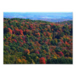 Appalachian Mountains in Fall Nature Photography Photo Print