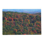 Appalachian Mountains in Fall Nature Photography Placemat