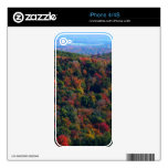 Appalachian Mountains in Fall Nature Photography Skins For iPhone 4S