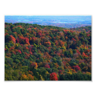 Appalachian Mountains in Fall Photo Print