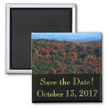 Appalachian Mountains in Fall Save the Date Magnet
