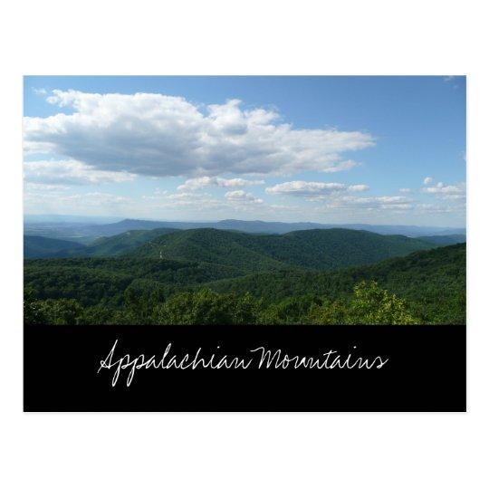 Appalachian Mountains Postcard