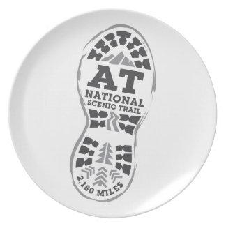 Appalachian National Scenic Trail Plate