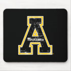 Appalachian State University Mark Distressed Mouse Pad