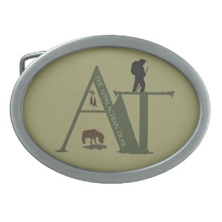 Appalachian Trail AT Hiker Belt Buckle