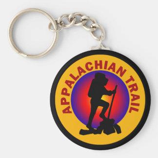 Appalachian Trail Basic Round Button Keychain