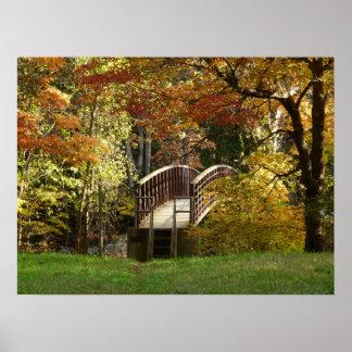 Appalachian Trail Bridge poster