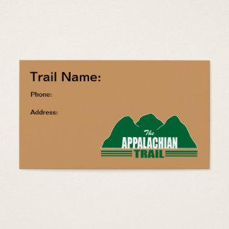 Appalachian Trail Business Cards