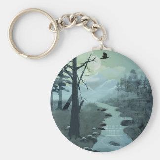 Appalachian Trail Creek Keychain