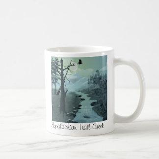 Appalachian Trail Creek Coffee Mugs