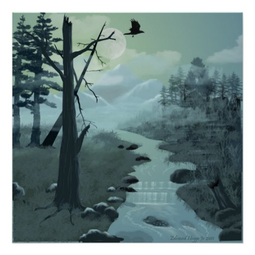 Appalachian Trail Creek Print