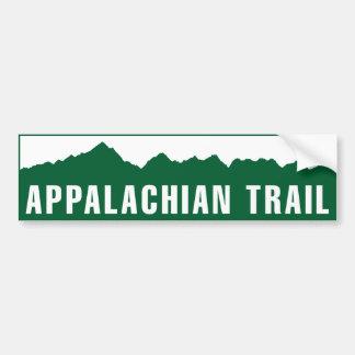 Appalachian Trail (Elevation) Car Bumper Sticker