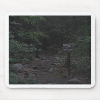 appalachian trail footpath sign dusk mouse pad