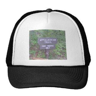 appalachian trail footpath sign trucker hat