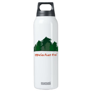 Appalachian Trail (Forest) - 16 Oz Insulated SIGG Thermos Water Bottle
