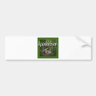 Appalachian Trail green Bumper Sticker