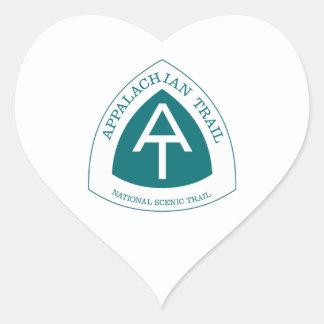Appalachian Trail Heart Sticker