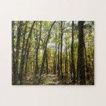 Appalachian Trail in October at Shenandoah Jigsaw Puzzle