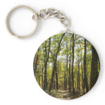 Appalachian Trail in October at Shenandoah Keychain