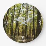 Appalachian Trail in October at Shenandoah Large Clock