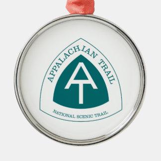 Appalachian Trail Metal Ornament