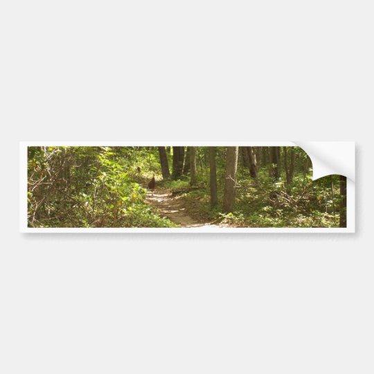 appalachian trail pennsylvania turkeys bumper sticker