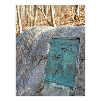 Appalachian Trail Plaque Unicoi Gap GA Mug Postcard