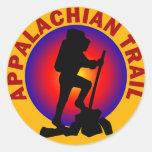 Appalachian Trail Round Sticker