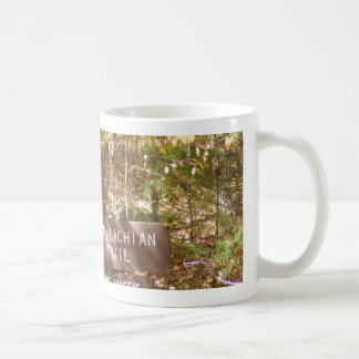 appalachian trail sign pennsylvania fall coffee mug