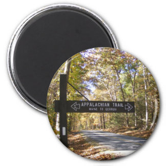 appalachian trail sign pennsylvania fall refrigerator magnet