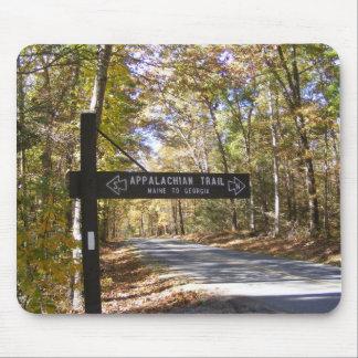 appalachian trail sign pennsylvania fall mouse pad